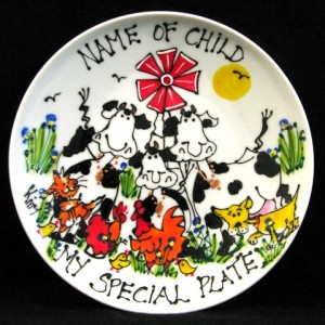kitty's happy farm plates