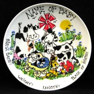 kitty's happy farm plates